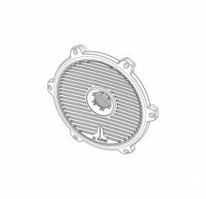 Marine - Speakers - JL Audio - JL Audio M880-TA-CG-T-RP Titanium Classic Grille/Tweeter Assembly for M880