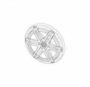 Marine - Speakers - JL Audio - JL Audio MX65-TA-SG-T-RP Titanium Sport Grille/Tweeter Assembly for MX650