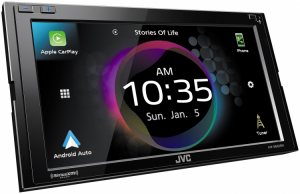Car Audio - Head Units - JVC - JVC KW-M865BW 2-DIN AV Receiver