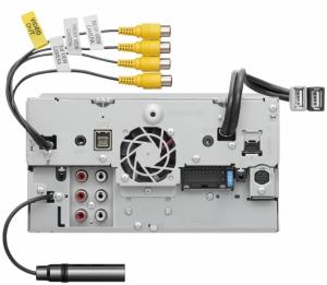 JVC - JVC KW-M865BW 2-DIN AV Receiver - Image 6