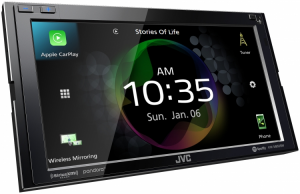 Car Audio - Head Units - JVC - JVC KW-M855BW 2-DIN AV Receiver