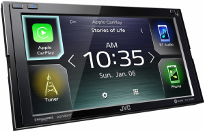 Car Audio - Head Units - JVC - JVC KW-M75BT 2-DIN AV Receiver