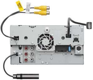 JVC - JVC KW-M740BT 2-DIN AV Receiver - Image 4