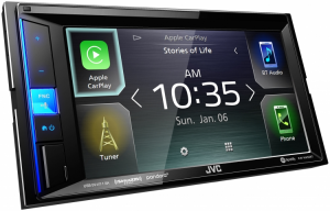 Car Audio - Head Units - JVC - JVC KW-M650BT 2-DIN AV Receiver
