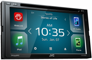 Car Audio - Head Units - JVC - JVC KW-V640BT 2-DIN AV Receiver