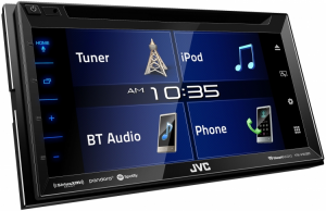 Car Audio - Head Units - JVC - JVC KW-V350BT 2-DIN AV Receiver