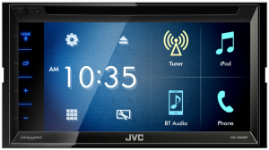JVC - JVC KW-V340BT 2-DIN AV Receiver - Image 4