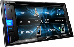 Car Audio - Head Units - JVC - JVC KW-V25BT 2-DIN AV Receiver