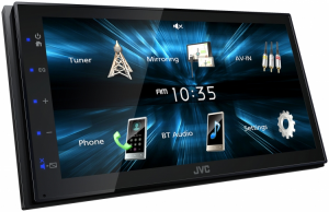 Car Audio - Head Units - JVC - JVC KW-M150BT 2-DIN AV Receiver