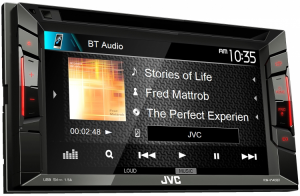 Car Audio - Head Units - JVC - JVC KW-V140BT 2-DIN AV Receiver