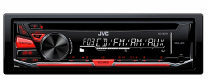 Car Audio - Head Units - JVC - JVC KD-R370 1-DIN CD Receiver