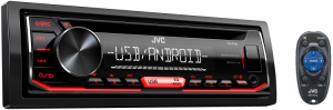 Car Audio - Head Units - JVC - JVC KD-R490 1-DIN CD Receiver