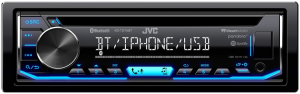 Car Audio - Head Units - JVC - JVC KD-TD70BT 1-DIN CD Receiver