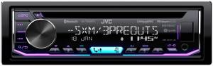 Car Audio - Head Units - JVC - JVC KD-T805BTS 1-DIN CD Receiver