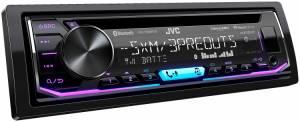 JVC - JVC KD-T805BTS 1-DIN CD Receiver - Image 3