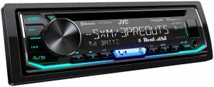 JVC - JVC KD-T805BTS 1-DIN CD Receiver - Image 4