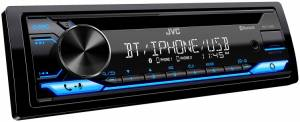 Car Audio - Head Units - JVC - JVC KD-T710BT 1-DIN CD Receiver