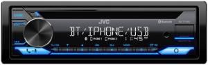 JVC - JVC KD-T710BT 1-DIN CD Receiver - Image 2