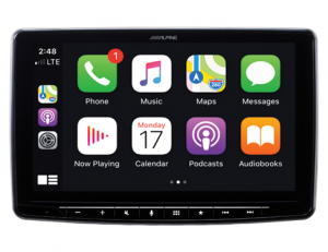 Car Audio - Head Units - Alpine - ALPINE ILX-F309  9-Inch Alpine Halo9 Mech-less Audio/Video Receiver