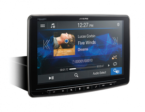 Car Audio - Head Units - Alpine - ALPINE ILX-F259  9-Inch Alpine Halo9 Mech-less Audio/Video Receiver with Apple CarPlay® and Android Auto™