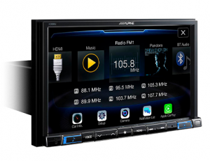 Car Audio - Head Units - Alpine - ALPINE X308U  8-Inch Mech-Less Navigation Receiver