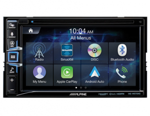 Car Audio - Head Units - Alpine - ALPINE INE-W970HD  6.5-Inch Universal In-Dash CD/DVD Receiver with Built-in Navigation