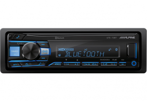Car Audio - Head Units - Alpine - ALPINE UTE-73BT  Advanced Bluetooth® Mech-less Digital Receiver