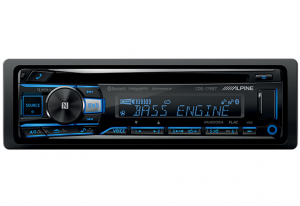 Car Audio - Head Units - Alpine - ALPINE CDE-175BT  CD/USB Receiver With Advanced Bluetooth