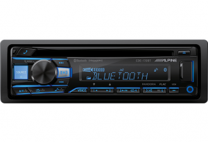 Car Audio - Head Units - Alpine - ALPINE CDE-172BT  Advanced Bluetooth® CD Receiver