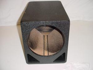 Custom Subwoofer Boxes - Double Ported - Audio Dynamics - Audio Dynamics [DP-110] 1x10'' Double slot ported Poly sub box