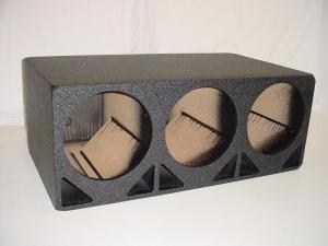 Audio Dynamics [DP-310] 3x10'' double Ported Pro Poly Sub Box