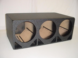 Custom Subwoofer Boxes - Double Ported - Audio Dynamics - Audio Dynamics [DP-312] 3x12'' double Ported Pro Poly Sub Box