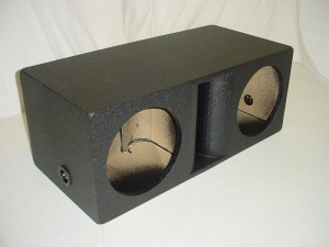 Custom Subwoofer Boxes - Horn Ported Sub Box - Audio Dynamics - Audio Dynamics [HPORT-212] 2-12'' Horn Ported Subwoofer Box