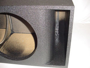 Custom Subwoofer Boxes - Horn Ported Sub Box - Audio Dynamics - Audio Dynamics [hp15mega] 2-15'' Mega bass Horn Ported Sub Box Subwoofer Box