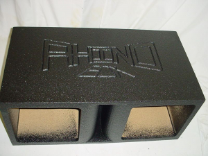 Custom Subwoofer Boxes - Horn Ported Sub Box - Audio Dynamics - Audio Dynamics [HPORT-215SQ] Horn Ported Solobaric 15'' Subwoofer Box Sub Box