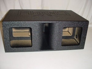 Custom Subwoofer Boxes - Horn Ported Sub Box - Audio Dynamics - Audio Dynamics [HPORT-210SBS] Horn Ported 2-10''Solo-Baric Super Bass Pro-Poly Subwoo