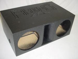 Custom Subwoofer Boxes - Horn Ported Sub Box - Audio Dynamics - Audio Dynamics [HPORT-212SB] Horn Ported 2-12'' Super Bass Pro-Poly Subwoofer Box Sub Box