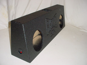 Custom Subwoofer Boxes - Slotted Truck - Audio Dynamics - Audio Dynamics [49spltruck] 2-10'' or 12'' Slot Ported Truck Poly Sub box