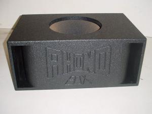 Custom Subwoofer Boxes - Horn Ported Sub Box - Audio Dynamics - Audio Dynamics [sing15dppoly] Single 15'' Double Horn Ported Poly Sub Box Subwoofer Box