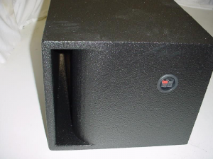 Custom Subwoofer Boxes - Horn Ported Sub Box - Audio Dynamics - Audio Dynamics [1x12hpsb] Super Bass Horn Ported Single 12''Subwoofer Box Sub Box