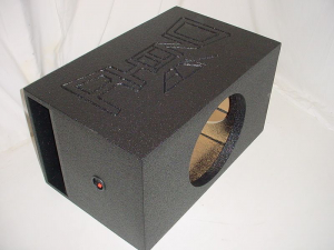 Custom Subwoofer Boxes - Horn Ported Sub Box - Audio Dynamics - Audio Dynamics [HPORT-115SB] Single 15'' Horn Ported Super Bass Subwoofer Box