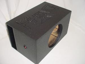 Custom Subwoofer Boxes - Horn Ported Sub Box - Audio Dynamics - Audio Dynamics [HPORT-115SB] Single 15'' Horn Ported Super Bass Subwoofer Box