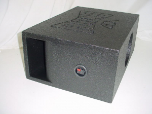Custom Subwoofer Boxes - Horn Ported Sub Box - Audio Dynamics - Audio Dynamics [HPORT-118SBS] Horn Ported super bass single 8''sub woofer box sub box
