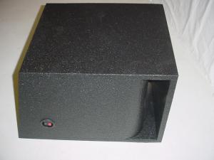 Custom Subwoofer Boxes - Horn Ported Sub Box - Audio Dynamics - Audio Dynamics [sin15hppoly1] Single 15'' Horn Ported Pro-Poly Subwoofer box Sub box