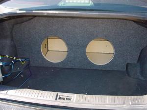 Audio Dynamics - Audio Dynamics [INF-504] 2003-2006- Infiniti G35 Sedan Custon Sub Box - Image 1