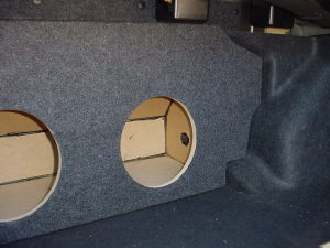 Audio Dynamics - Audio Dynamics [INF-504] 2003-2006- Infiniti G35 Sedan Custon Sub Box - Image 4