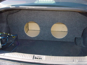 Audio Dynamics - Audio Dynamics [INF-503] 2003-2006- Infiniti G35 Sedan Custon Sub Box - Image 2