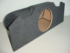 Audio Dynamics - Audio Dynamics [infing351-12] 2003-2008 Infiniti G-35 Single 12'' Sub Box - Image 1