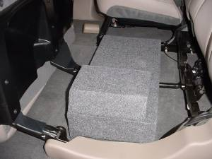 Custom Subwoofer Boxes - Chevy / GMC - Audio Dynamics - Audio Dynamics [1/2AVALANCHE] 02-2016 Chevy Avalanche or Cadillac Ext.1-10'' Sub Box