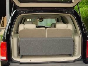 Custom Subwoofer Boxes - Chevy / GMC - Audio Dynamics - Audio Dynamics [cadillacesca] 2007 and Up Cadillac Escalade Sub Box